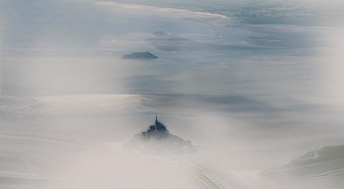 Dans la brume du matin en ULM